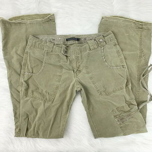 Anthropologie Sanctuary Green Cargo Distressed 6